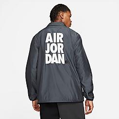 Men's Jordan Jumpman Classics Black Logo Jacket