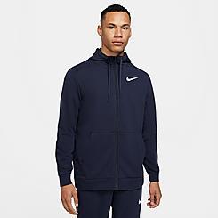 Men's Nike Dri-FIT Chest Logo Full-Zip Hoodie