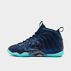 Boys' Big Kids' Nike Little Foamposite One Basketball Shoes