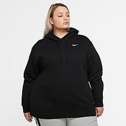 Women's Nike Sportswear Fleece Pullover Hoodie (Plus Size)