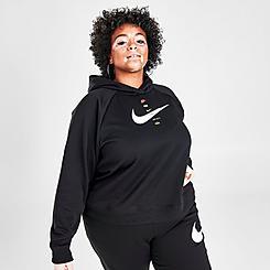 Women's Nike Sportswear SWOOSH Hoodie (Plus Size)