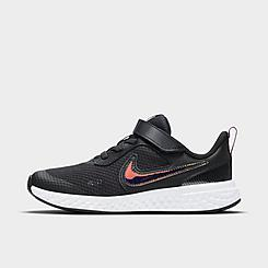 Little Kids' Nike Revolution 5 SE Power Hook-and-Loop Running Shoes