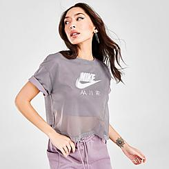 Women's Nike Air Mesh Short-Sleeve Top