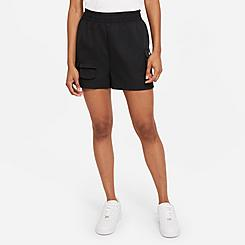 Women's Nike Sportswear Swoosh High-Rise Woven Shorts