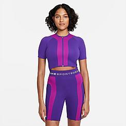 Women's Nike Sportswear Street Full-Zip Crop Top