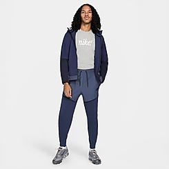 Men's Nike Sportswear Tech Fleece Woven Mix Jogger Pants