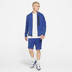 Men's Nike Sportswear Washed Tech Fleece Shorts