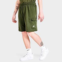 Men's Nike Sportswear Club Fleece Cargo Shorts