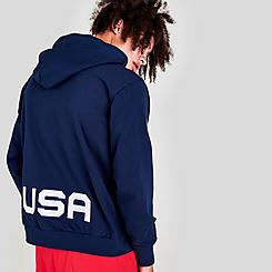 Men's Nike Standard Issue Team USA Basketball Pullover Hoodie