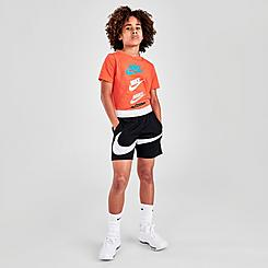 Boys' Nike Dri-FIT Swoosh Basketball Shorts