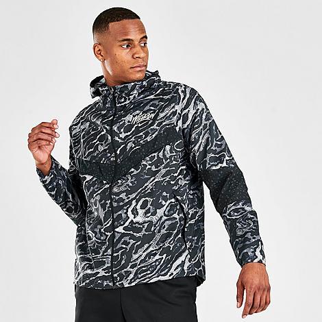 Nike Jackets NIKE MEN'S WINDRUNNER ANI-CAMO WILD RUN RUNNING JACKET SIZE 2X-LARGE 100% POLYESTER
