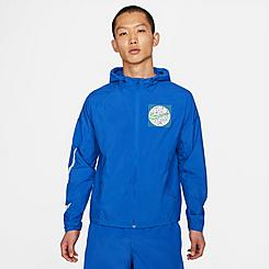 Men's Nike Essential Wild Run Graphic Packable Jacket