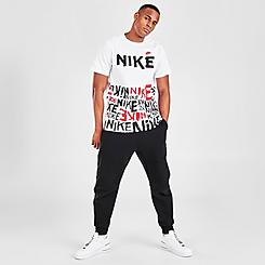 Men's Nike Sportswear Allover HBR Print T-Shirt