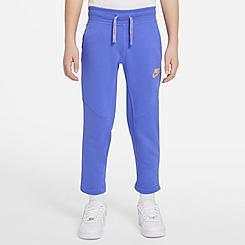 Kids' Nike Sportswear Utility Fleece Cropped Jogger Pants
