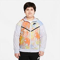 Kids' Nike Sportswear Tie-Dye Windrunner Jacket
