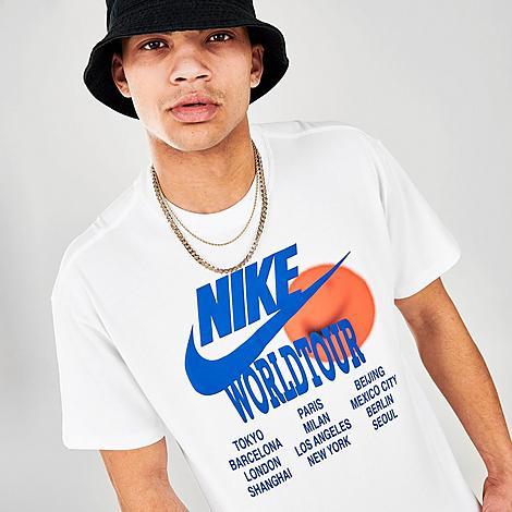 Nike Clothing NIKE MEN'S SPORTSWEAR WORLD TOUR T-SHIRT