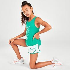 Girls' Nike Swooshfetti Tempo Shorts