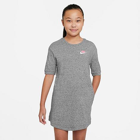 Nike Cottons NIKE GIRLS' SPORTSWEAR JERSEY DRESS