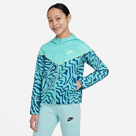 Nike NIKE GIRLS' SPORTSWEAR PRINTED JACKET
