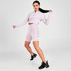 """Women's Nike Swoosh Run 7"""" Bike Shorts"""