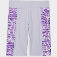 Girls' Big Kids' Nike Trophy Tie-Dye Bike Shorts