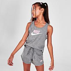 Girls' Nike Sportswear Jersey Shorts
