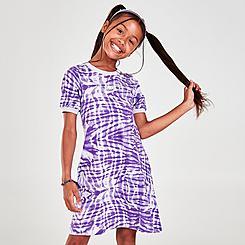 Girls' Nike Sportswear Allover Print T-Shirt Dress