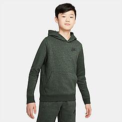 Kids' Nike Sportswear Zero Regrind Logo Pullover Hoodie
