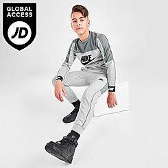 Boys' Nike Sportswear Hybrid Fleece Joggers