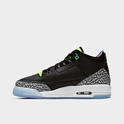 Big Kids' Air Jordan Retro 3 SE Basketball Shoes