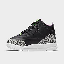 Kids' Toddler Air Jordan Retro 3 SE Basketball Shoes