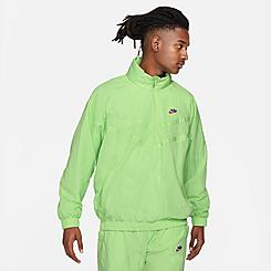 Men's Nike Sportswear Windrunner Half-Zip Jacket
