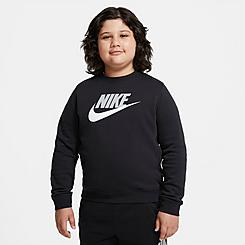 Kids' Nike Sportswear Club Fleece Crewneck Sweatshirt (Plus Size)