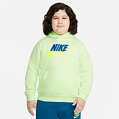 Kids' Nike Sportswear HBR Club Fleece Hoodie (Plus Size)