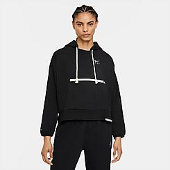 Women's Nike Dri-FIT Swoosh Fly Standard Issue Pullover Hoodie