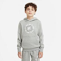 Boys' Nike Sportswear JDI Boxed Logo Pullover Hoodie