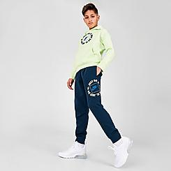 Boys' Nike Sportswear JDI Box Logo Fleece Jogger Pants