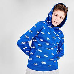 Boys' Nike Sportswear Printed Pullover Hoodie
