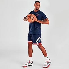 Men's Jordan Paris Saint-Germain Jumpman Diamond Shorts