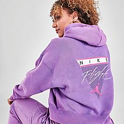 Women's Jordan Flight Fleece Pullover Hoodie