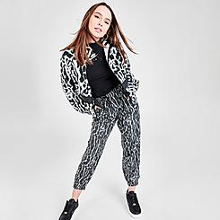 Women's Nike Sportswear Animal Print Woven Jogger Pants