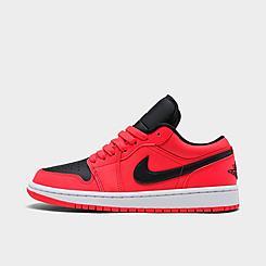 Women's Air Jordan Retro 1 Low Casual Shoes
