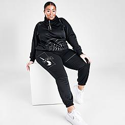 Women's Nike Sportswear Icon Clash Fleece Jogger Pants (Plus Size)