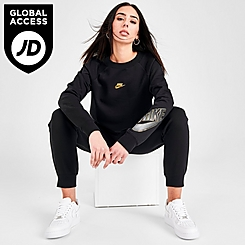 Women's Nike Sportswear Shine Fleece Crewneck Sweatshirt