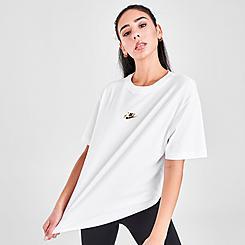 Women's Nike Sportswear Shine Boyfriend T-Shirt