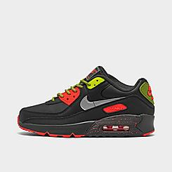 Boys' Big Kids' Nike Air Max 90 SE Casual Shoes