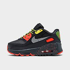 Boys' Toddler Nike All Conditions Play Air Max 90 Leather Casual Shoes
