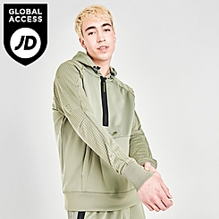 Men's Nike Sportswear Air Max Logo Half-Zip Fleece Hoodie
