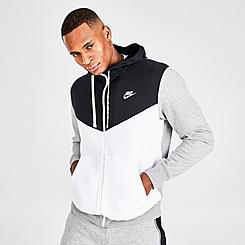 Men's Nike Sportswear Hybrid Fleece Full-Zip Hoodie