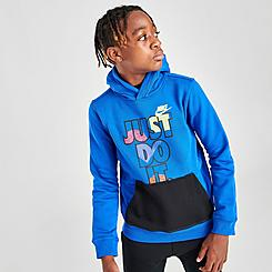 Boys' Nike JDI Fly Pullover Hoodie